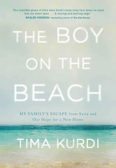 The book jacket for The Boy on the Beach